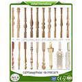 wood stair spindles home decoration columns
