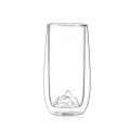 borosilicate double wall glass cup coffee mug tea sets  drinking glasses