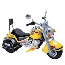 Les enfants se promènent sur la moto (WJ277066)