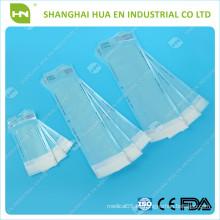 Material de laboratorio dental desechable Auto sellado Bolsa de esterilización