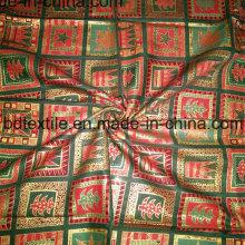 Diseño muy hermoso de la Navidad de la tela impresa del algodón a los EEUU