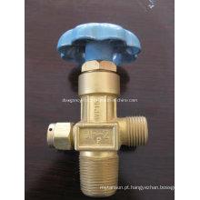 Válvula de Cilindro de Gás em Aço Inoxidável de Alta Pressão Qf-2