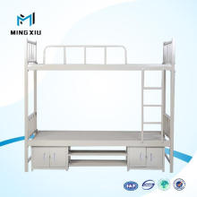 Steel Square Cabin Hospital Metal Double Bunk Bed / Bunk Bed