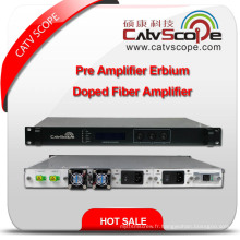 Amplificateur de fibre pré-Erbium-Doped pré-Erbium à haute performance Ultra-Low