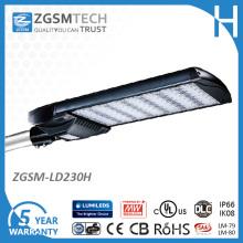 Luz do parque de estacionamento do diodo emissor de luz de IP66 230W com o UL do CE aprovado