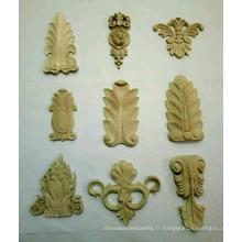 Onlays en bois de bon prix et de bonne qualité pour les armoires