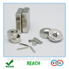 kundengebundene Größe Nickel Beschichtung Ndfeb magnet
