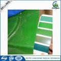 Hoja de acero galvanizada corrugada de color