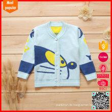 V-Ausschnitt Baby Pullover Stricken Bilder Design