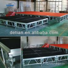 China Fabricante peso leve montagem palco treliça telhado evento barraca treliça de alumínio treliça de palco