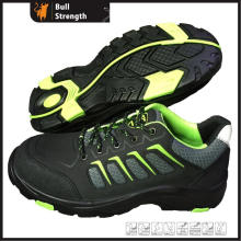 Nubuck Leather Safety Shoe with PU&Rubber Outsole (SN5436)