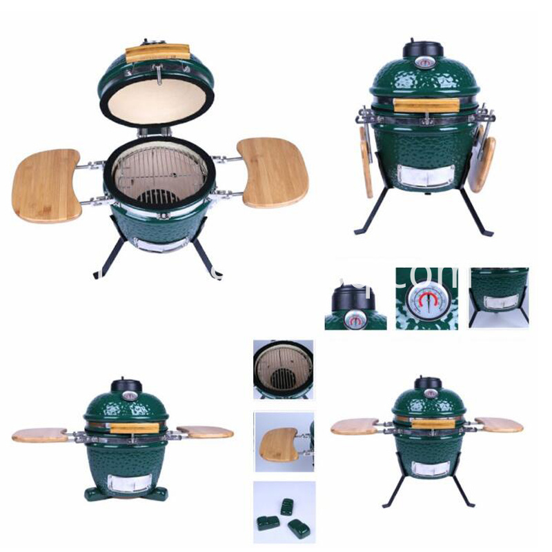 12 Inch Mini Egg Ceramic Kamado Grill