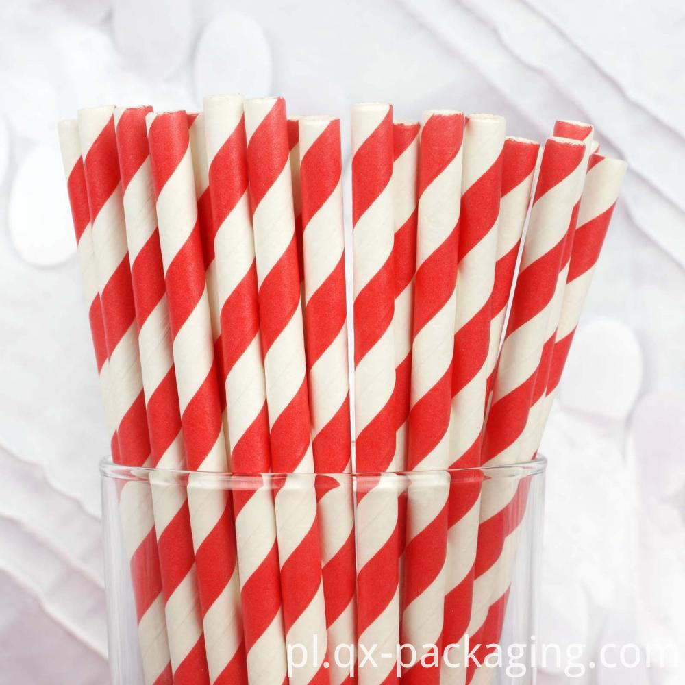 Red White Straws
