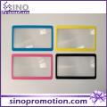 Promotion 3X Toy Plastic Mini Magnifier Card