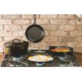 Cast iron cookware set camping cookware set