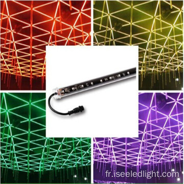 Commande bi-pixel DMX 3D Tube RGB LED