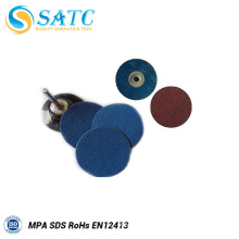 Round silicon carbide sanding quick change disc for metal About