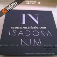 Custom shape letterpress paper full colour luxury business cards printers