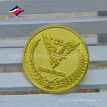 Placa de ouro empresa promoção presentes emblemas de borboleta