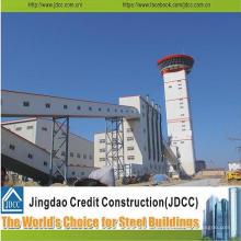 Estructura de acero, fabricación de acero, proyecto de construcción de acero