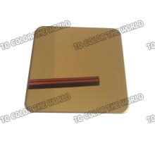 Qualitäts-304 Edelstahl-Farbblatt für Dekorationsmaterialien