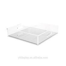 High Clear Acrylic Food Display Tray