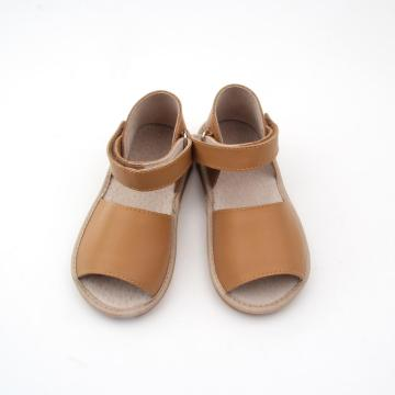 Fashion Brown Kids Squeaky Sandalen 2018