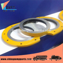 China supply hot sale sany concrete pump spare part wear plate and cutting ring