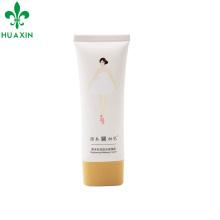 Tubo de crema CC de 35 ml con tapa oval oscura