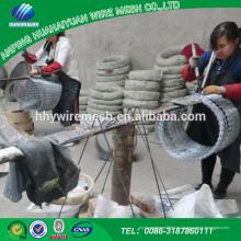 Venta caliente Hecho en China 2017 Alambre de púas de alta calidad y durable de la maquinilla de afeitar del precio