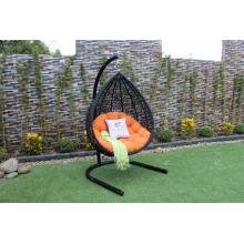 Cadeira de suspensão sintética de poli Rattan