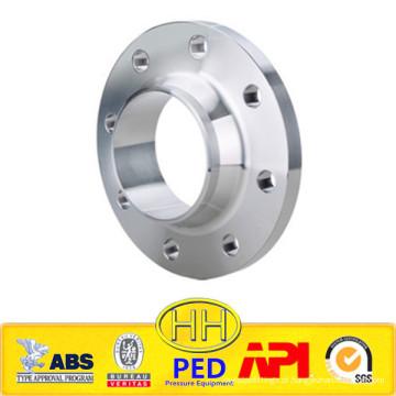 EN 1092-1 Flange WN em aço inoxidável 1.4306 / 1.4307 / 304L