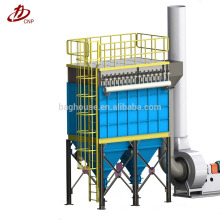 Système de filtre de dépose de tissu de silo de ciment