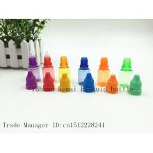 15ml E Botella líquida con tapa protectora para niños y anillo de seguridad