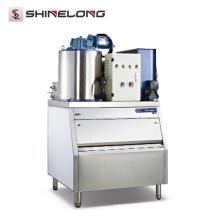 Máquina de hielo de escala profesional 600KG Fabricante de cubitos de hielo de forma independiente al instante