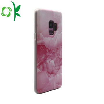 Half-cover Marbling Soft TPU Phone Case For Samsung