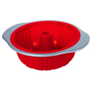 carbon steel frame silicone bundt pan