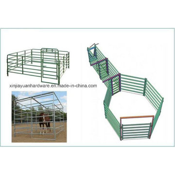 Fermeture en fer galvanisée électrique à cheval