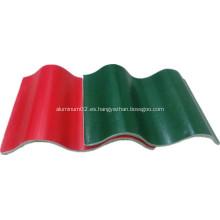 Hoja de techo de alta resistencia a prueba de fuego rojo Mgo