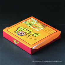 Boîte à pizza emballage imprimé personnalisé à vendre