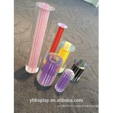 Rod acrylique coloré de vente chaude, barre acrylique colorée