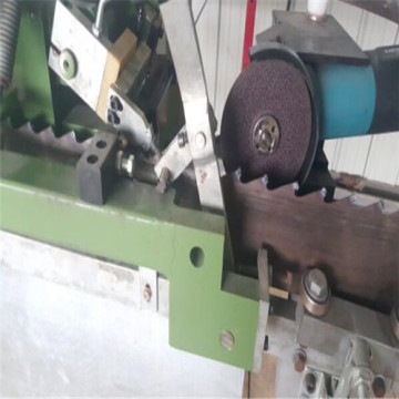 Automatic saw blade stellite tipped machine