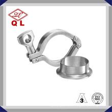 Sanitária aço inoxidável Tri Clamp (grau 304 / 316L) / Pipe Clamp