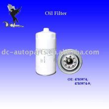 Filtro de Óleo Lubrificante Rotativo Volvo Escavadeiras4785974