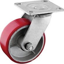 Heavy Duty ruedas giratorias de la placa superior