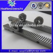 Fabricantes profesionales helicoidales de cremallera y piñón