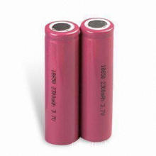 High Drain Lithium-ion Rechargeable Batteries with 3.7V Nominal Voltage and 1,500mAh Capacity