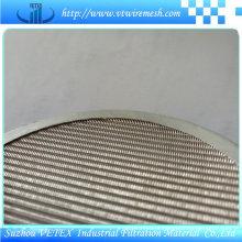 Disco de filtro usado para filtrar líquido