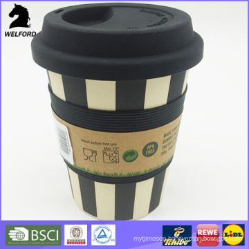Eco-Friendly Bamboo Fiber Coffee Mug