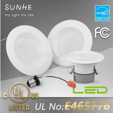 SAT UL Listed Retrofit LED dimmable 13w downlight integrated led driver down lights